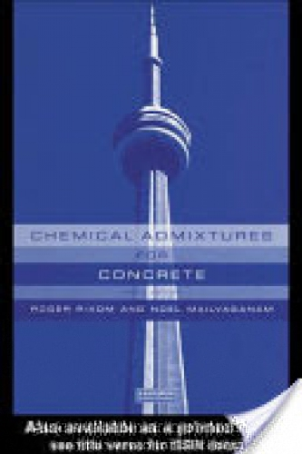 Chemical Admixtures for Concrete, Third Edition